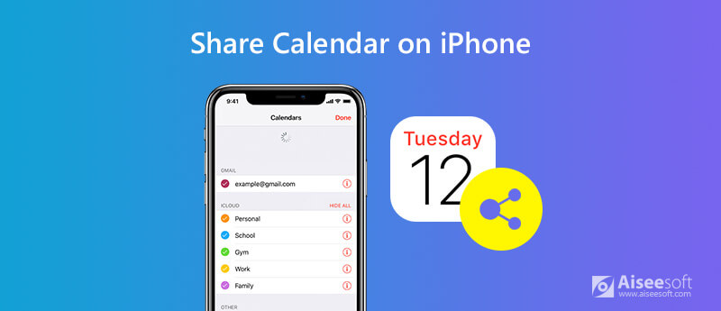 Share Calendars and Events on iPhone
