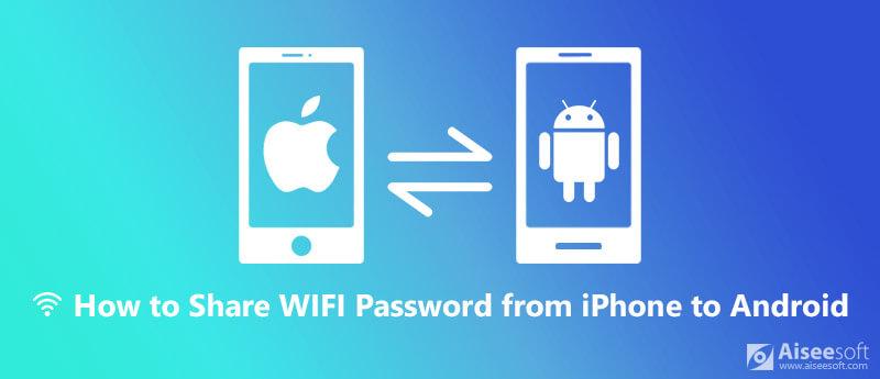 Deel WiFi-wachtwoord van iPhone naar Android