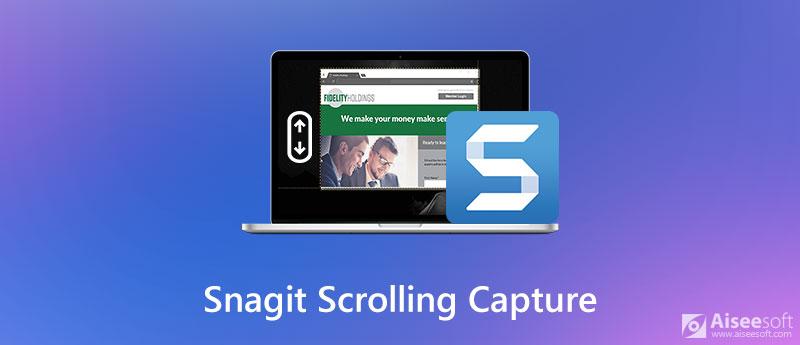 Snagit Scrolling Capture