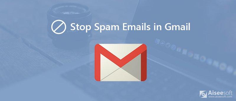 Διακοπή ανεπιθύμητων μηνυμάτων ηλεκτρονικού ταχυδρομείου στο Gmail