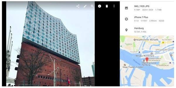 Traccia un iPhone utilizzando Google Foto