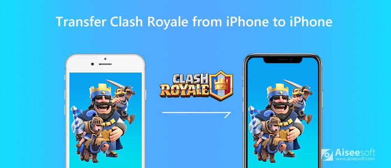 Move Clash Royale Account and Data