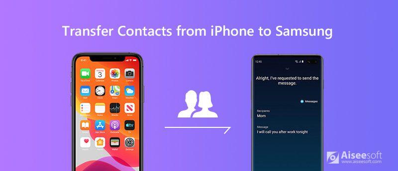 Μεταβείτε τις επαφές από το iPhone στο Samsung Galaxy