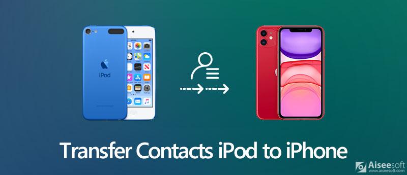 Przenieś kontakty z iPoda na iPhone'a