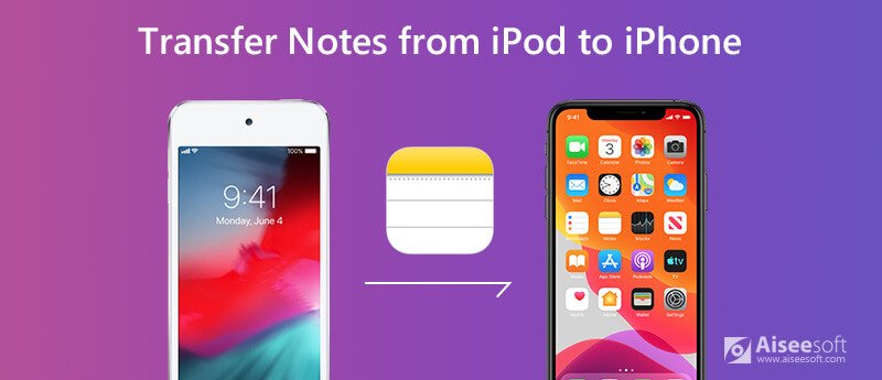 Transfer Notes from iPod to iPhone