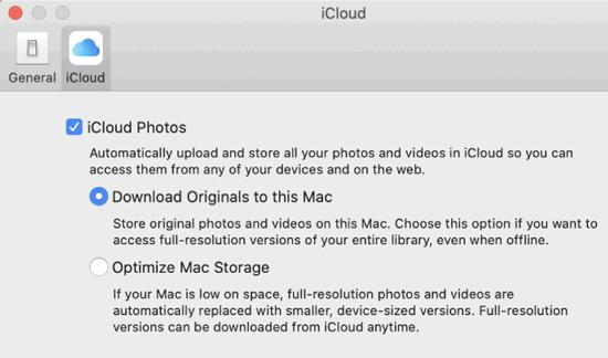 Scarica da iCloud