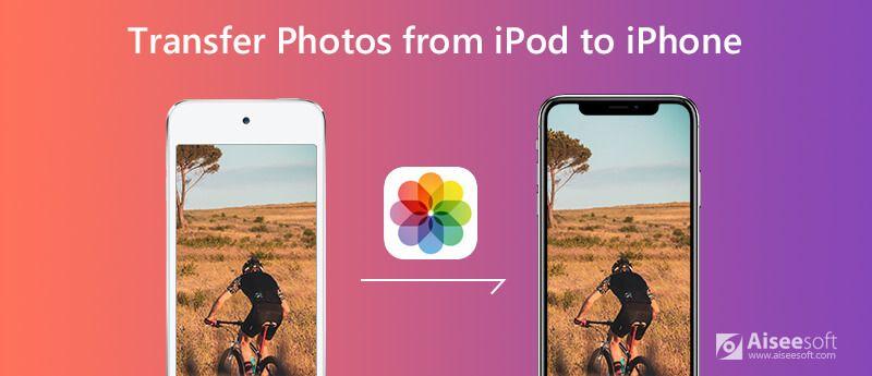 Przesyłaj zdjęcia z iPoda na iPhone'a