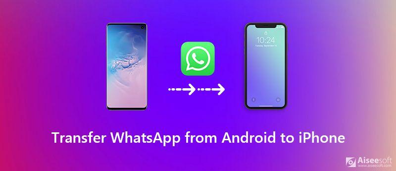 Μεταφέρετε το WhatsApp από το Android στο iPhone