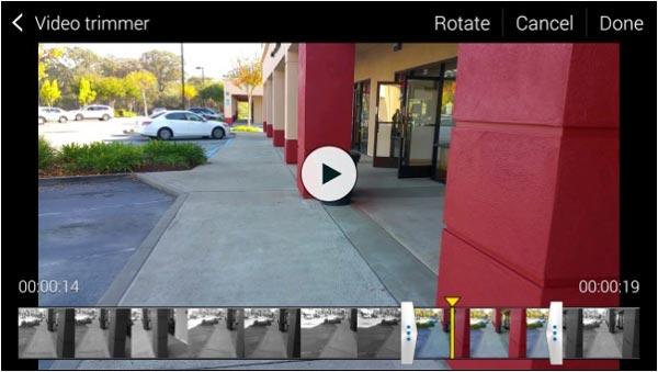 Taglia video su Android