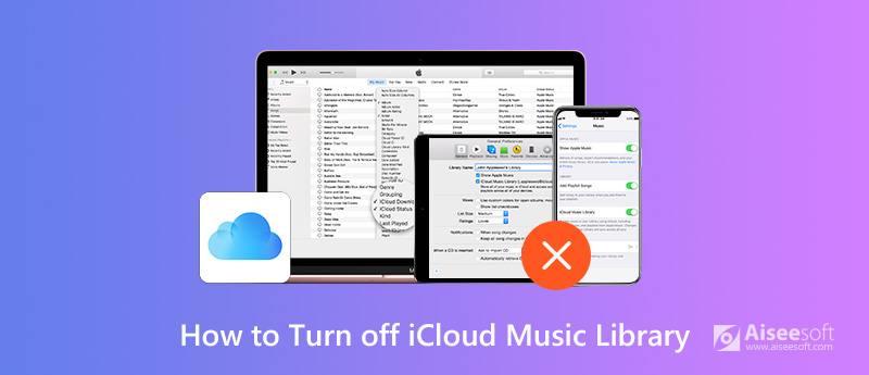 Disattiva iCloud Music Library