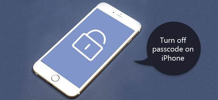 Schakel Passcode op iPhone uit