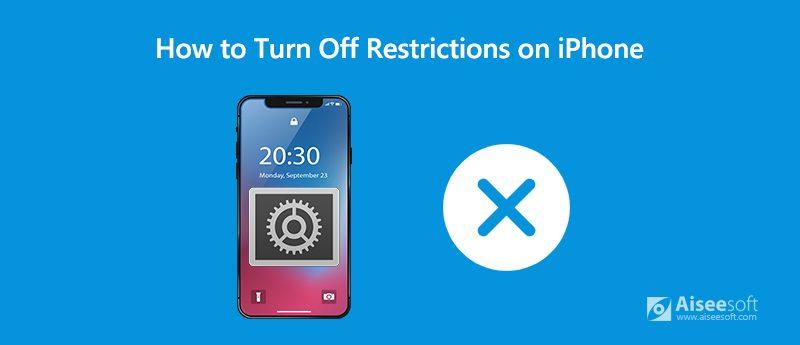 Πώς να απενεργοποιήσετε τους περιορισμούς στο iPhone