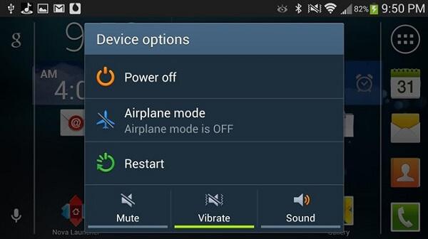 Επανεκκινήστε τη συσκευή σας