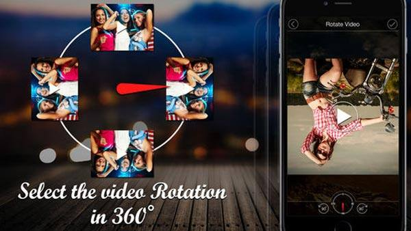 How to turn a video sideways if you are satisfied with the rotated video save it to your camera roll or share it to social media ccuart Image collections