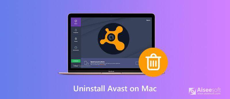 Disinstallare Avast Apps su Mac