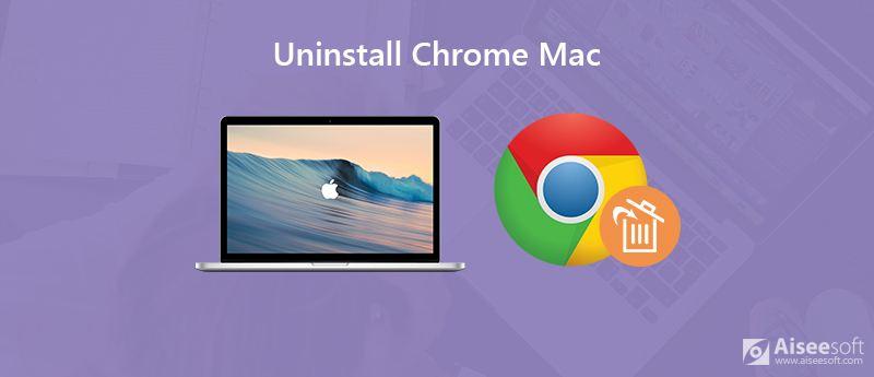 卸載Chrome Mac