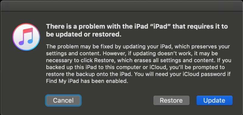 Unlock iPad In Recovery Mode