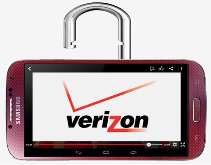 解鎖Verizon