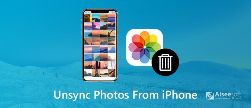 Non sincronizzare le foto da iPhone