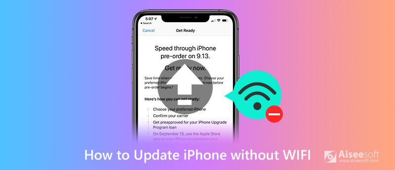 Update iOS 13/iOS 12 Without Wi-Fi