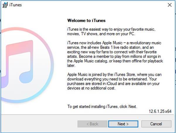 Scarica iTunes