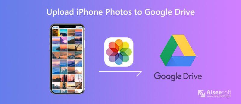 Carica foto di iPhone su Google Drive