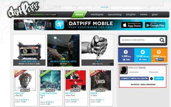 How to Upload Your Mixtape on Datpiff in Correct Format For Free?