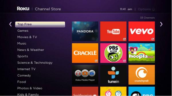 Pairing Device with Roku