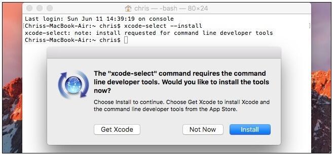 Xcode-επιλέξτε