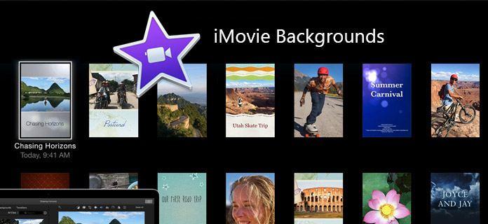 iMovie背景