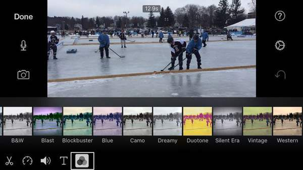 Add iMovie Filters to Video