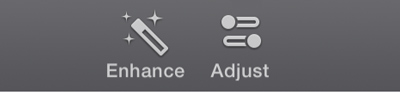 iMovie iTunes Adjust
