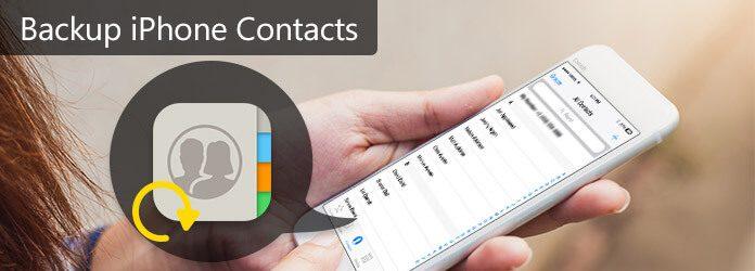 Contatti di backup su iPhone