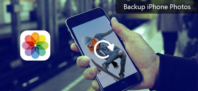 Backup foto di iPhone