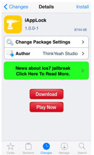 Installa iAppLock