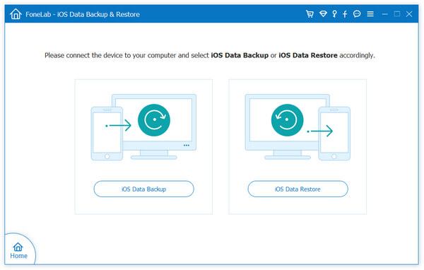 Ios Data Backup Restore Interface