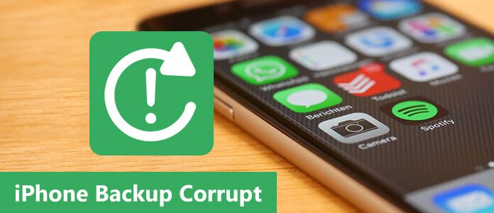 Two Options for You When Encountering iPhone Backup Corrupt