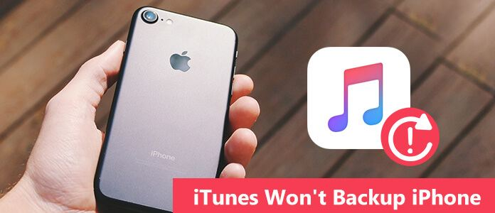 iTunes nie wykona kopii zapasowej iPhone'a