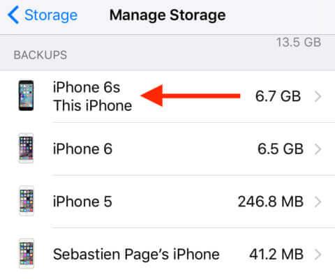Gestisci l'archiviazione iCloud