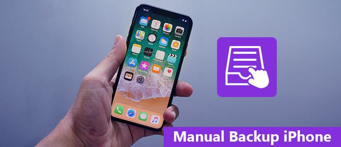 Manual Backup iPhone