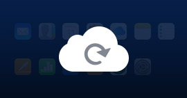 Recover from iCloud backup files