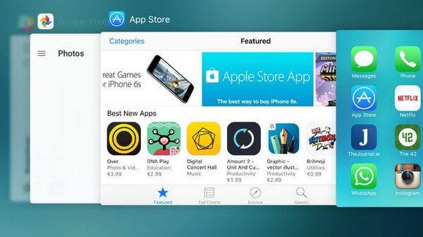 iPhone Frozen στην εφαρμογή