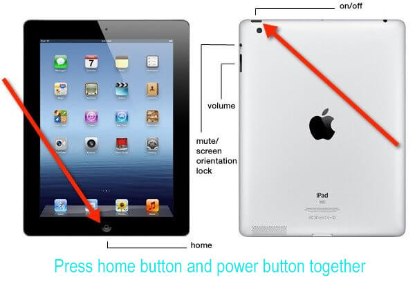 Hard Reset iPad fix Schermo nero per iPad