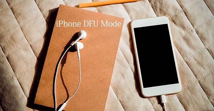 iPhone DFU módu