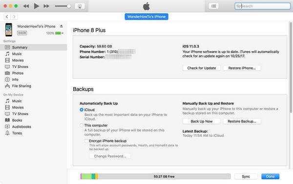 Přepněte iPhone do režimu DFU pomocí iTunes