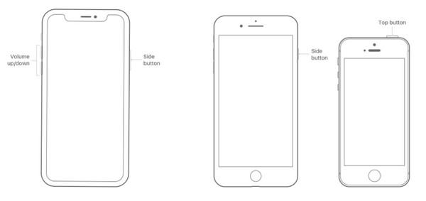 Riavvia iPhone