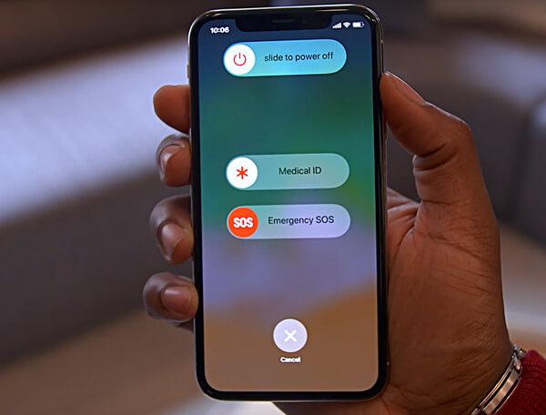 Απενεργοποιήστε το iPhone X