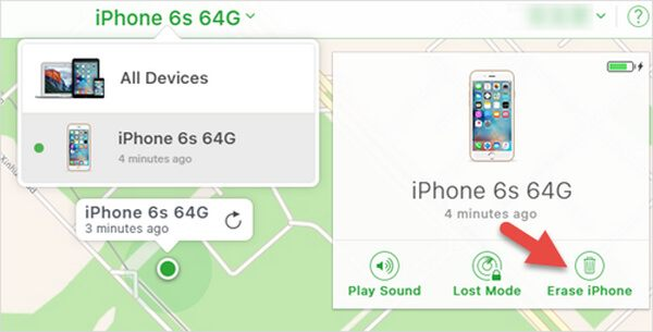 Unlock Disabled iPhone with Find My iPhone