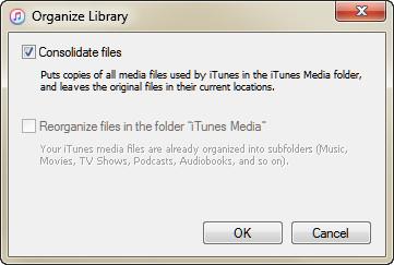 Consolida iTunes