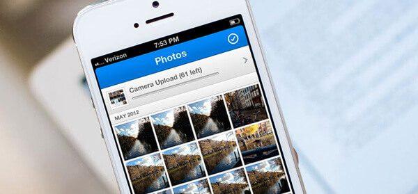 Λήψη φωτογραφιών από iPhone σε υπολογιστή μέσω Dropbox